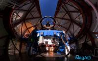 Magellan Telescope with MagAO System