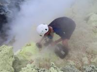 Installing a MultiGAS Volcano Monitoring Device, Papua New Guinea