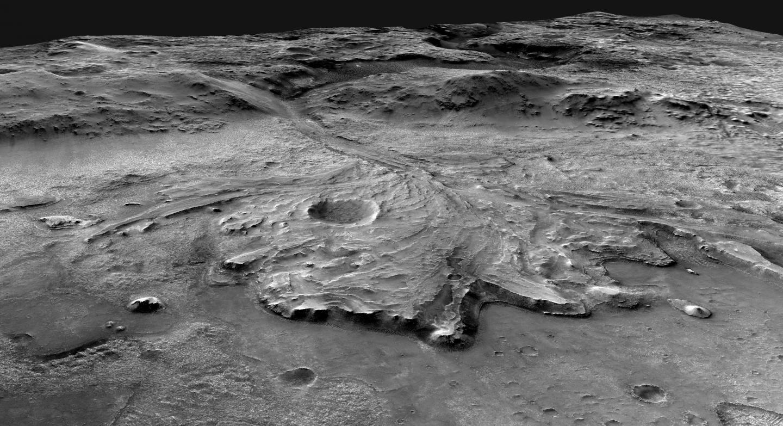 Jezero Crater - Mars 2020 Landing Site