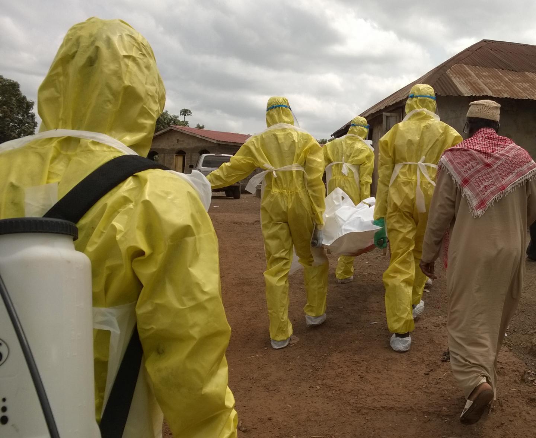 Deceased Ebola Patient in Sierra Leone