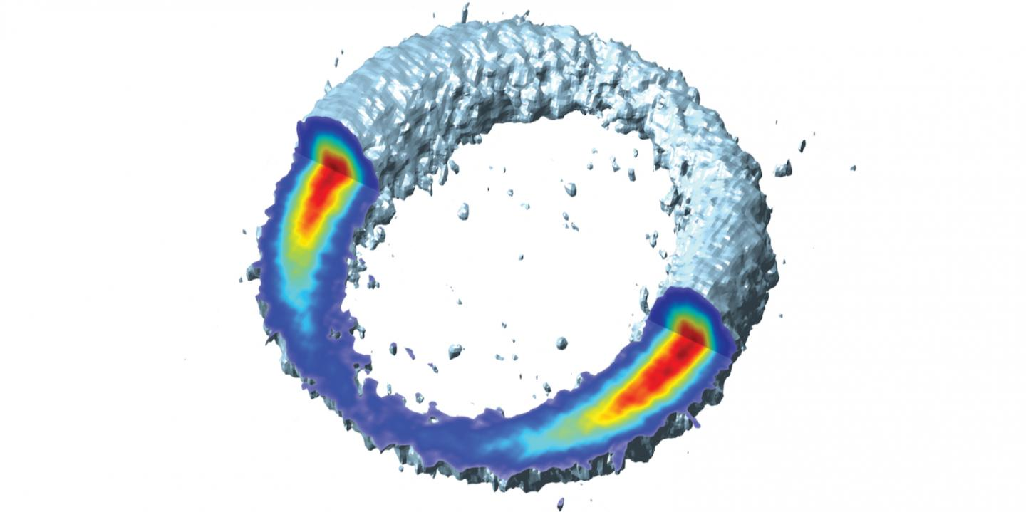 Momentum Distributions from Strong-Field Ionization with Angular Streaking