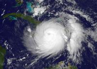 Satellite Image of Matthew