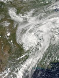 MODIS Image of Bill
