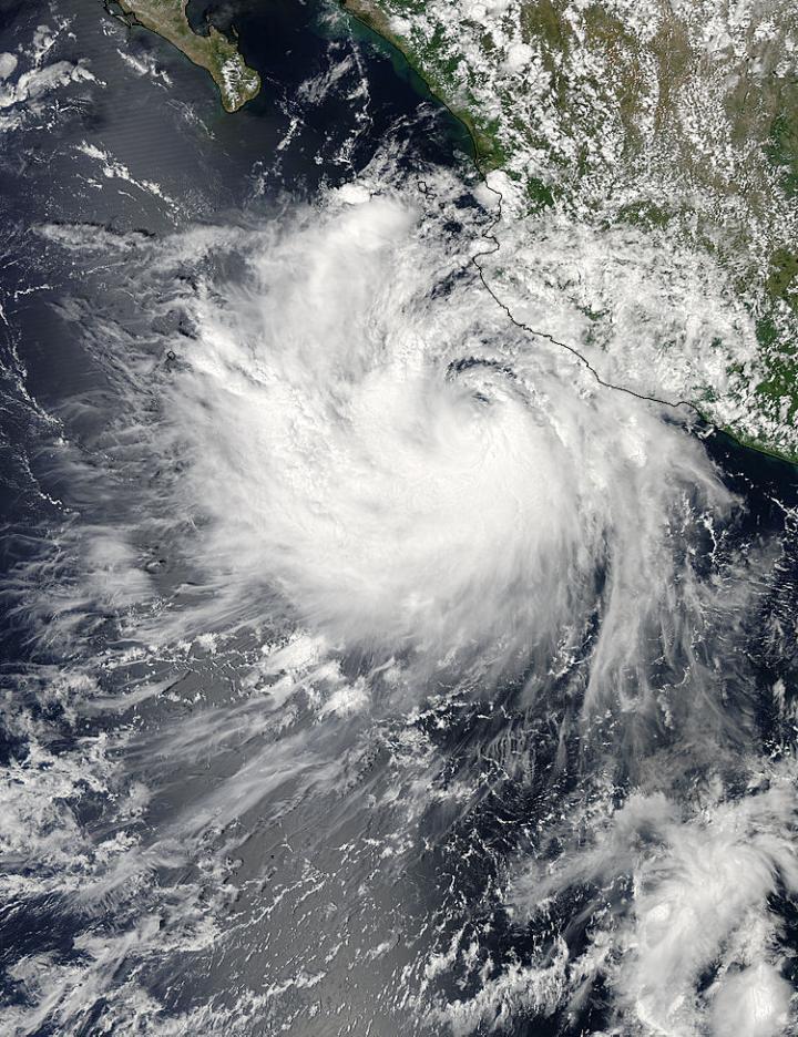 MODIS Image of Polo