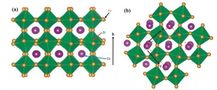 CaZrSe3 Chalcogenide Perovskite